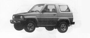 Daihatsu Rocky DX 1991 г.