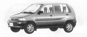 Mitsubishi Minica 5DOOR 4WD XF-4 1991 г.