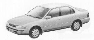 Toyota Corolla SEDAN 1500SE-LIMITED 1991 г.