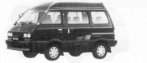 Subaru Domingo 4WD 1.2L GV 1991 г.
