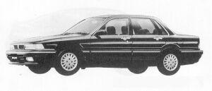 Mitsubishi Galant 1.8MF 1991 г.
