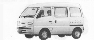 Suzuki Carry VAN PC 1991 г.