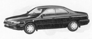 Toyota Vista HARD TOP 1800 ETOVALE V 1991 г.