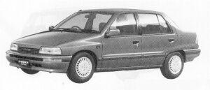 Daihatsu Charade SOCIAL SR LIMITED 1991 г.