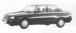 Daihatsu Applause SUPER SELECTION 1991 г.