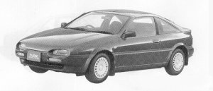 Nissan NX COUPE 1600 TYPE-B T BAR ROOT 1991 г.