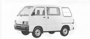 Daihatsu Hijet VAN STANDARD 1991 г.