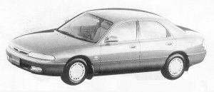Mazda Cronos 18VG 1991 г.