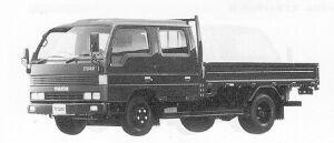 Mazda Titan W-CAB 2T WIDE CAB, LONG BODY 3500CC 1991 г.