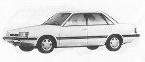 Subaru Leone 4DOOR SEDAN 1.6L MAYA 1991 г.