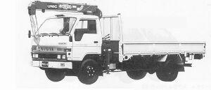 Toyota Toyoace CRANE TRUCK 3.5T 1991 г.