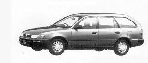 Toyota Sprinter VAN 2000 DIESEL XL EXTRA 1991 г.