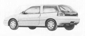 Isuzu Gemini HATCH BACK 1500 SOHC  OZ-G 1991 г.