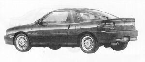 Isuzu Piazza 181XE/S 1991 г.