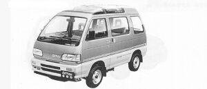 Daihatsu Atrai TURBO-FX 4WD 1991 г.