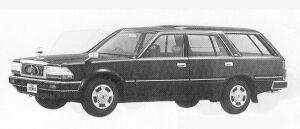 Nissan Cedric VAN VG20E CUSTOM DX 1991 г.