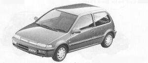 Honda City CZ-1 1991 г.