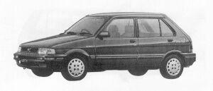 Subaru Justy 5DOOR MYME 1991 г.