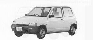 Suzuki Alto 3DOOR 2-SEATER 1991 г.