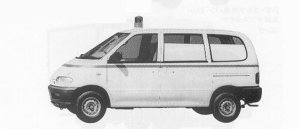 Nissan Vanette SERENA AMBULANCE 2WD 1600 1991 г.