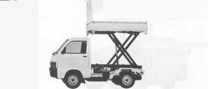 Daihatsu Hijet 4WD LIFT PICK DUMP 1991 г.