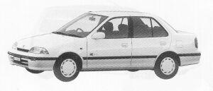 Suzuki Cultus ESTEEM 1300 1991 г.