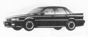 Mitsubishi Galant 2.0 DOHC AMG 1991 г.