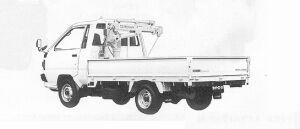 Toyota Liteace Truck CRANE 1991 г.