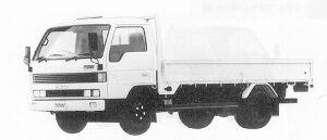 Mazda Titan 4T WIDE CAB, LONG BODY,HIGH FLOOR 4000CC 1991 г.