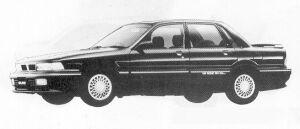 Mitsubishi Galant 1.8 DOHC VIENTO 1991 г.