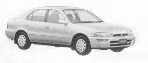 Toyota Sprinter SEDAN 1500SE-LIMITED 1991 г.