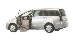 Mitsubishi Grandis with Moving Passenger Seat 2005 г.