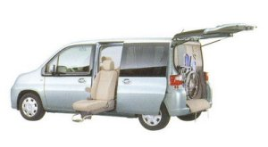 Honda Mobilio A  FF Side Lift-up Seat Version 2005 г.