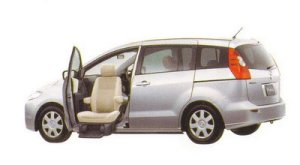 Mazda Premacy Passenger`s Lift-up Seat Vehicle 20C 2005 г.