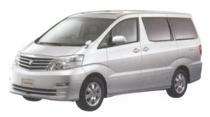 "Toyota Alphard G MZ  ""G Edition"" 7-seaters 2005 г."