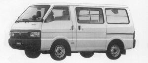 Mazda Bongo VAN 2WD STANDARD ROOF 2200 DIESEL DX 1996 г.
