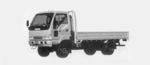 Nissan Atlas 4WD 2T WIDE CABIN, LONG BODY  CUSTOM 1996 г.