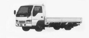 Isuzu Elf 2T WIDE CAB, FLAT LOW,  LONG BODY 1996 г.