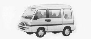Subaru Domingo GV 1996 г.
