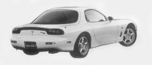 Mazda Efini RX-7 TYPE RB 1996 г.