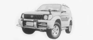 Toyota Land Cruiser Prado RZ 1996 г.