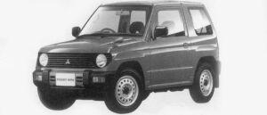 Mitsubishi Pajero Mini XR-II 2WD 1996 г.