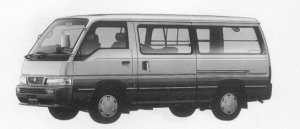 Nissan Caravan 2WD LONG BODY 4DOOR 3200 DIESEL VX 1996 г.