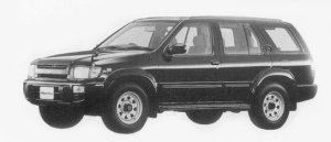 Nissan Terrano Regulus 3200 INTERCOOLER TURBO DIESEL RS 1996 г.