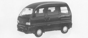 Mitsubishi Bravo 2WD EXCEED HIGH ROOF 1996 г.