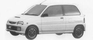 Daihatsu Mira TURBO TR-XX AVANZATO R4 1996 г.