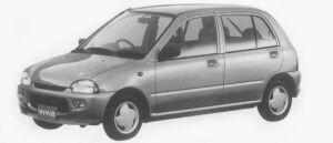 Subaru Vivio 5DOOR es 1996 г.
