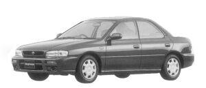 Subaru Impreza HARD TOP SEDAN CS EXTRA 1996 г.