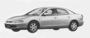 Mazda Lantis SEDAN TYPE G 1800 1996 г.