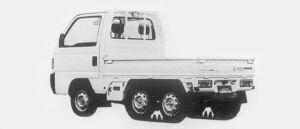 Honda Acty Truck CRAWLER 1996 г.